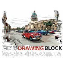 Альбом для малюв. на скобі 16арк. 100 г/м A5 АА5516, фото 3