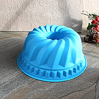 Форма для пирогов круглая силиконовая 23*10 см