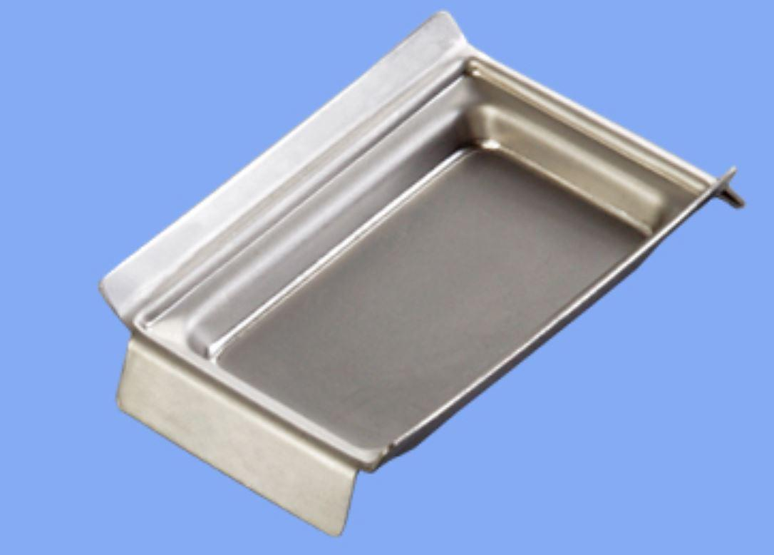 Форма для заливки биоптатов 37х24х6 мм из нержавеющей стали