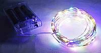 Гирлянда 200LED мультицветная на батарейках, фото 1
