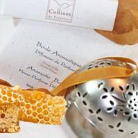 """Ароматизатор воздуха интерьерный """"Шар"""" - """"Мед и пряности""""  Collines de Provence"""