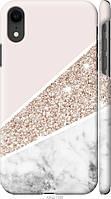 "Чехол на Apple iPhone XR Пастельный мрамор ""4342c-1560-40275"""