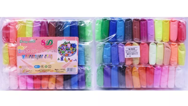 Маса для ліплення, 36 кольорів