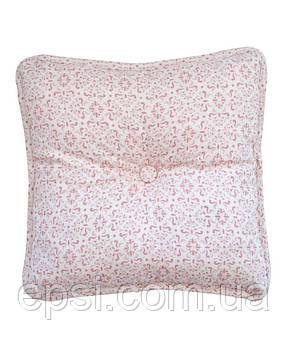 Подушка декоративная 35х35 Прованс Bella Розовый витраж