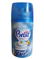 Освежитель воздуха Brait Fresh Linen автоматический сменный баллон 250мл
