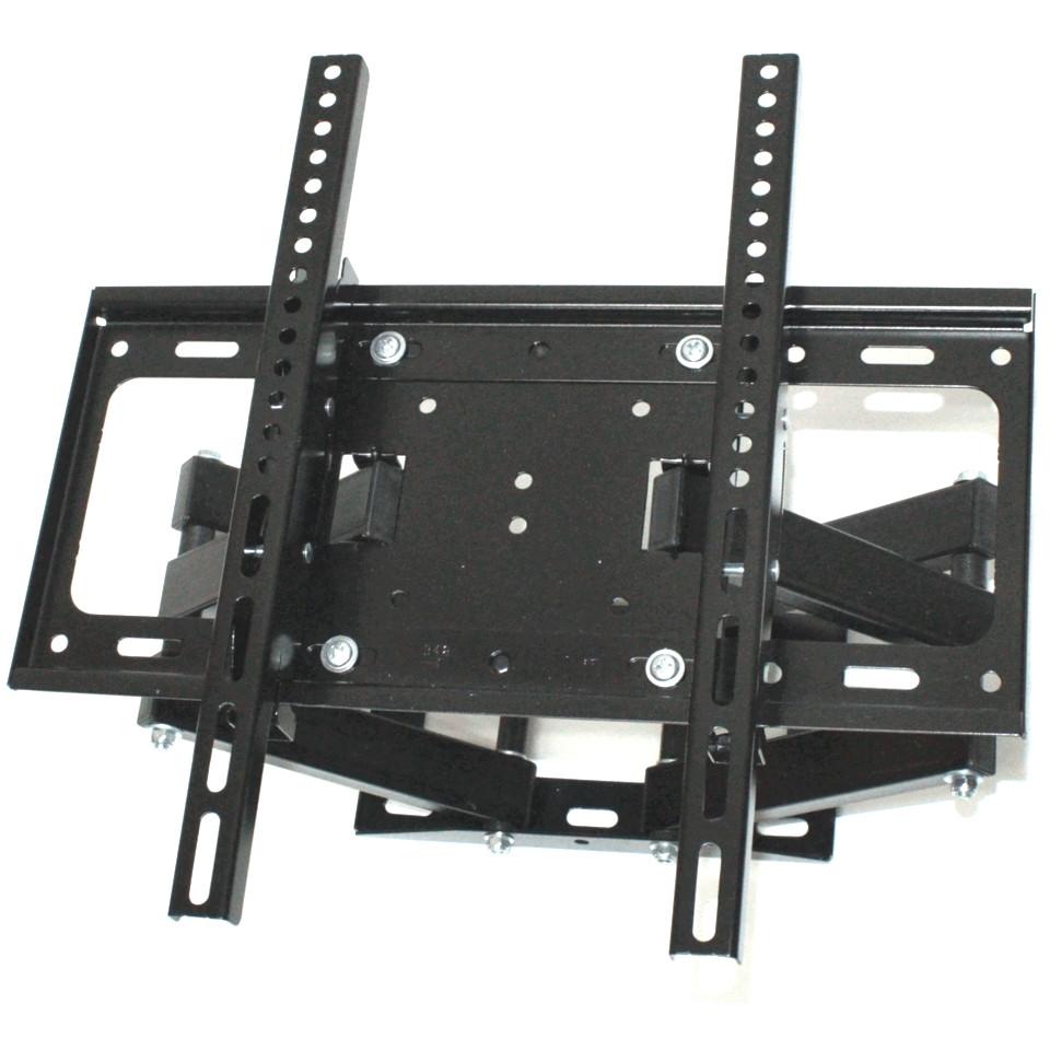 Поворотное крепление для телевизора на стену TV CP402 26-55 дюймов Двойной настенный наклонный кронштейн ТВ