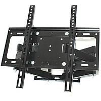 Поворотное крепление для телевизора на стену TV CP402 26-55 дюймов Двойной настенный наклонный кронштейн ТВ, фото 1