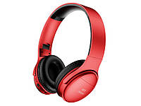 Гарнитура H1 Pro Bluetooth 5.0 беспроводные проводные 20 ЧАСОВ МУЗЫКИ Красный