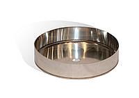 Дека із нержавіючої сталі Versia-Lux ф 110 мм товщина 0,6 мм 10388, КОД: 1879297
