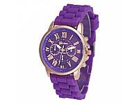 Кварцевые часы Geneva Рlatinum фиолетовый