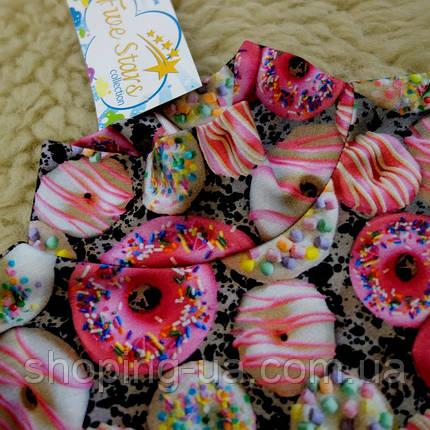Детская водолазка - гольф розовые пончики Five Stars KD0400-128р, фото 2