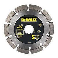 Диск алмазный специальный сегментированный DeWALT DT3757