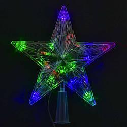 """Верхушка на ёлку С 23462 (100) """"Звезда"""" 1,35 метра длина шнура"""