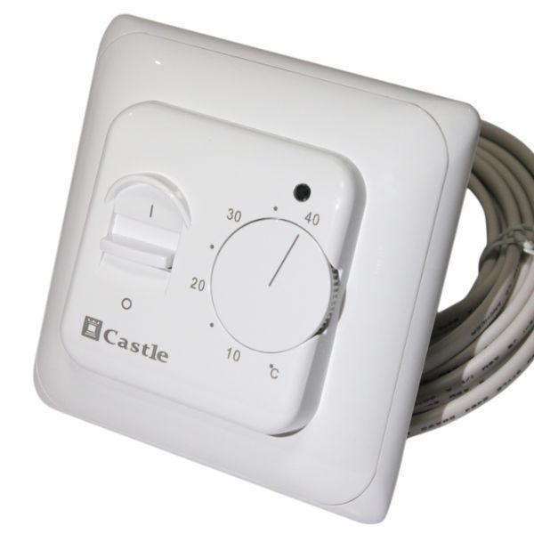Терморегулятор для теплої підлоги Castle (механічний)