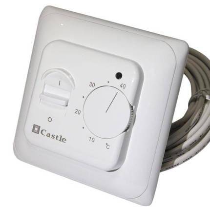 Терморегулятор для теплої підлоги Castle (механічний), фото 2