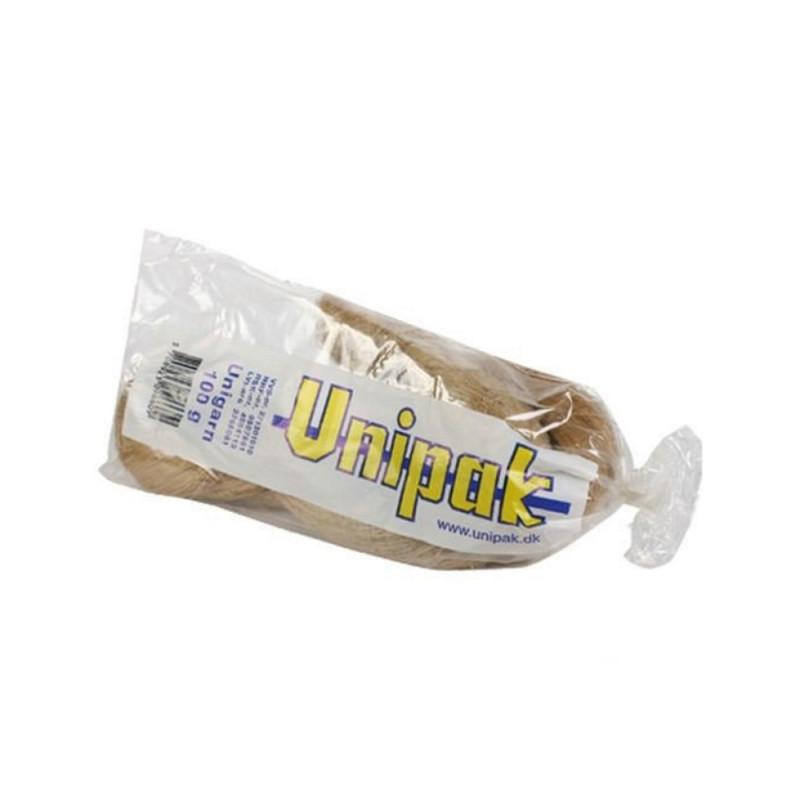 Лляне волокно Unigarn Unipak 100 г косичка