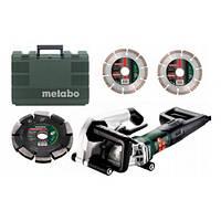 Штроборез Metabo MFE 40 + 2 алмазных диска + алмазный фрезеровальный диск 20 мм + кейс (604040900)