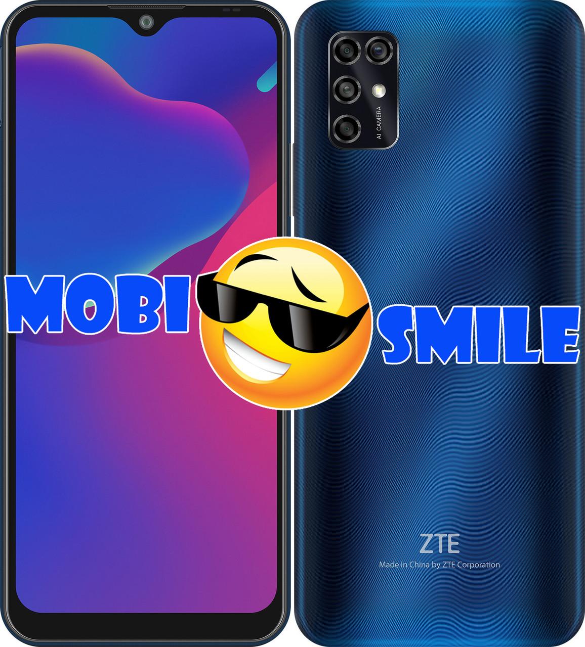 Смартфон ZTE Blade V2020 Smart 4/128Gb Blue Гарантия 12 месяцев
