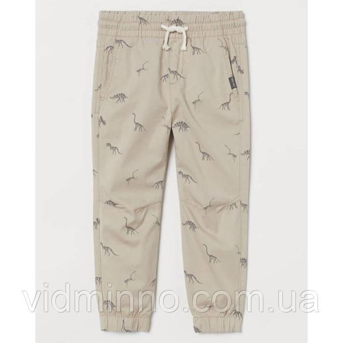 Дитячі штани джогери H&M на зріст 128 см (на 7-8 років)