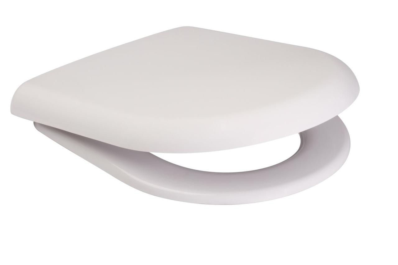 Сидіння для унітазу Cersanit MERIDA поліпропілен повільно падаюче