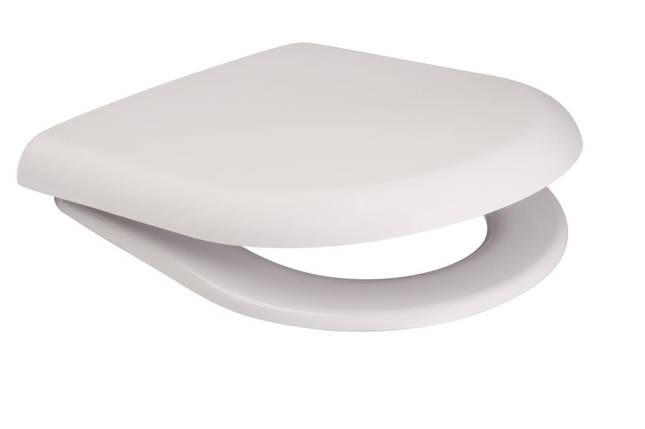 Сидіння для унітазу Cersanit MERIDA поліпропілен повільно падаюче, фото 2