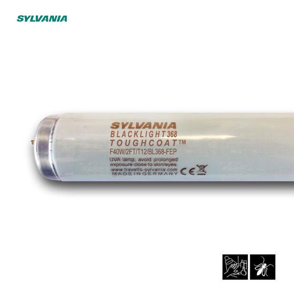 Лампа ультрафіолетова в пастки для комах Sylvania F40W/2FT/T12/BL368-FEP 600mm G13