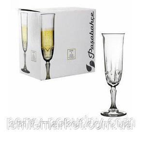 Набор фужеров Pasabahce Karat для шампанского 163 мл 6 шт, фото 2