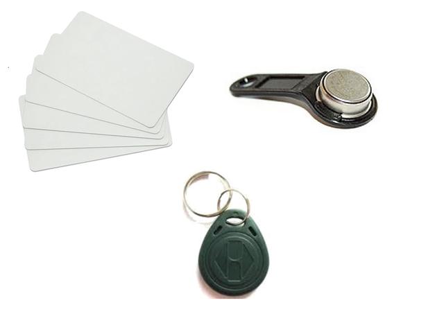 Электронные ключи, карты доступа, брелки. Программирование ключей