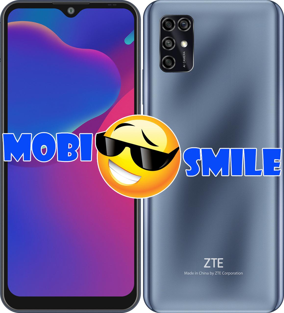 Смартфон ZTE Blade V2020 Smart 4/128Gb Grey Гарантия 12 месяцев