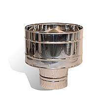 Дефлектор із нержавіючої сталі Versia-Lux ф 110 мм товщина 0,6 мм 10389, КОД: 1879299