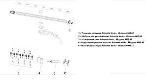 Душовий лоток Viega Advantix Vario 721671 (плоский, h-70 мм) довжина 30-120 см, фото 2