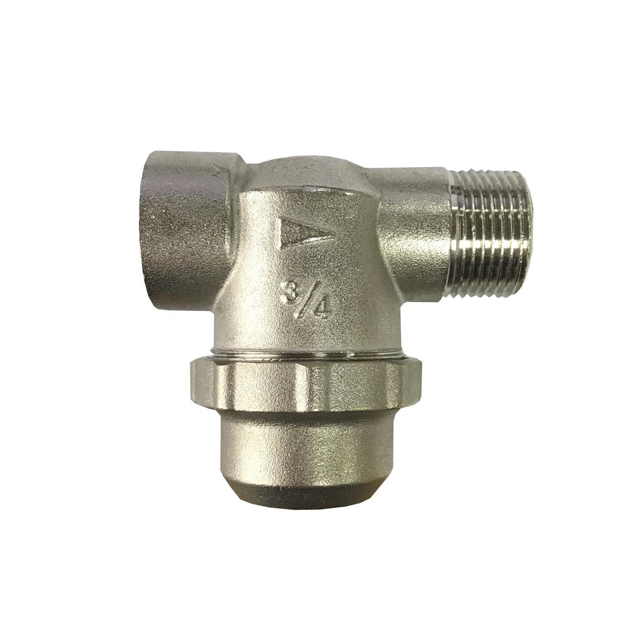 """Фільтр грубої очистки Solomon 8015 нікель НВ 3/4"""" з відстійником"""