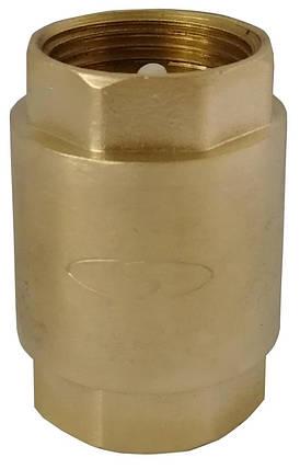 "Клапан зворотного ходу води Solomon 6021 з пластиковим штоком 1 1/4"", фото 2"