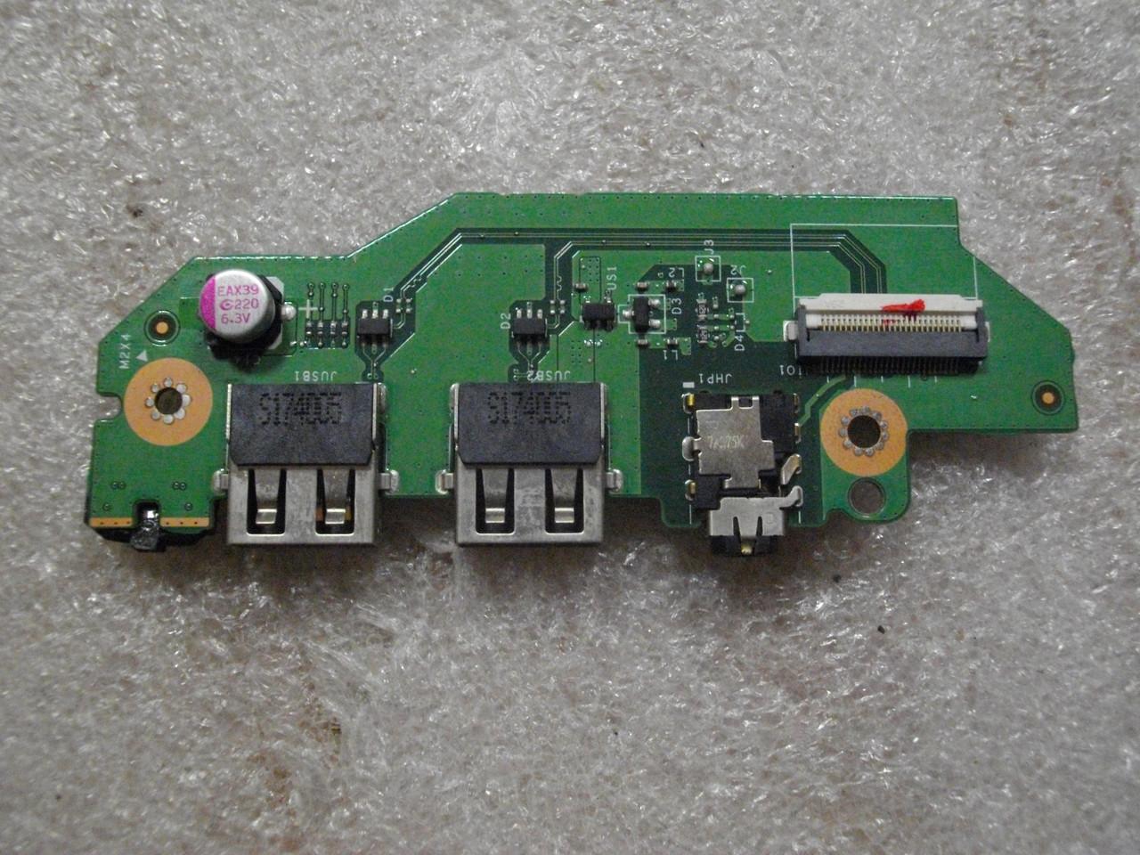 Плата с USB портом и картридер, аудио Acer Aspire 5 A515-41G A515-41G-T53G, LS-E901P бу