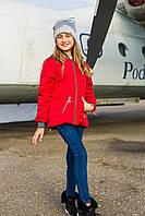 Удлиненная подростковая ветровка курточка Wellajur 128-158 рост