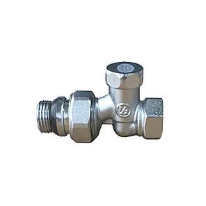 Кран прямий під ключ для радіаторів 1/2' з антипротечкой SOLOMON NEW (161405), фото 2