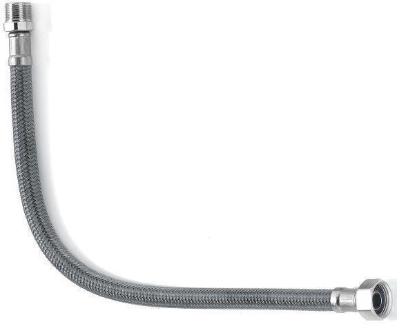 Шланг водяний АНТИКОРОЗІ Tucai TAQ ACB МG-1212-600 1/2*1/2 НВ 0,6 м