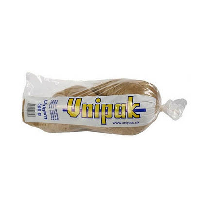 Лляне волокно Unigarn Unipak 500 г косичка, фото 2