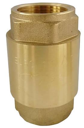 """Клапан зворотного ходу води Solomon EUROPA 6026 латунний шток 1"""", фото 2"""