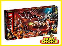 Конструктор LEGO Ninjago Дракон чаклуна Черепа для дітей від 9 років