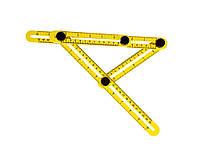 Многоугловая четырехсторонняя измерительная линейка
