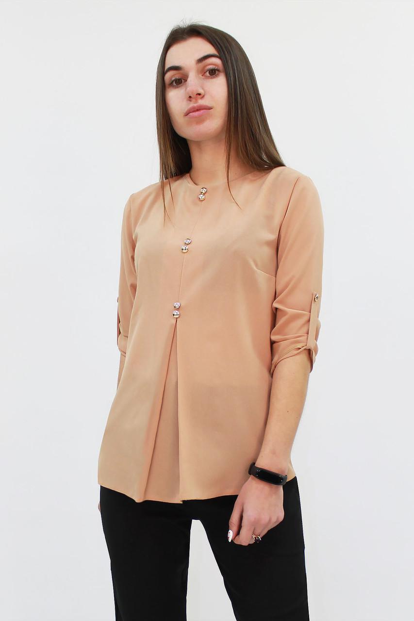 Стильная женская блузка Levis, бежевый