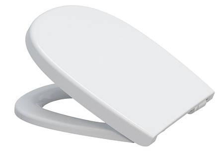 Сидіння для унітазу Cersanit ARTECO дюропластів повільно падаюче, фото 2