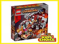 Конструктор LEGO Minecraft Битва за червоний пил для дітей від 8 років