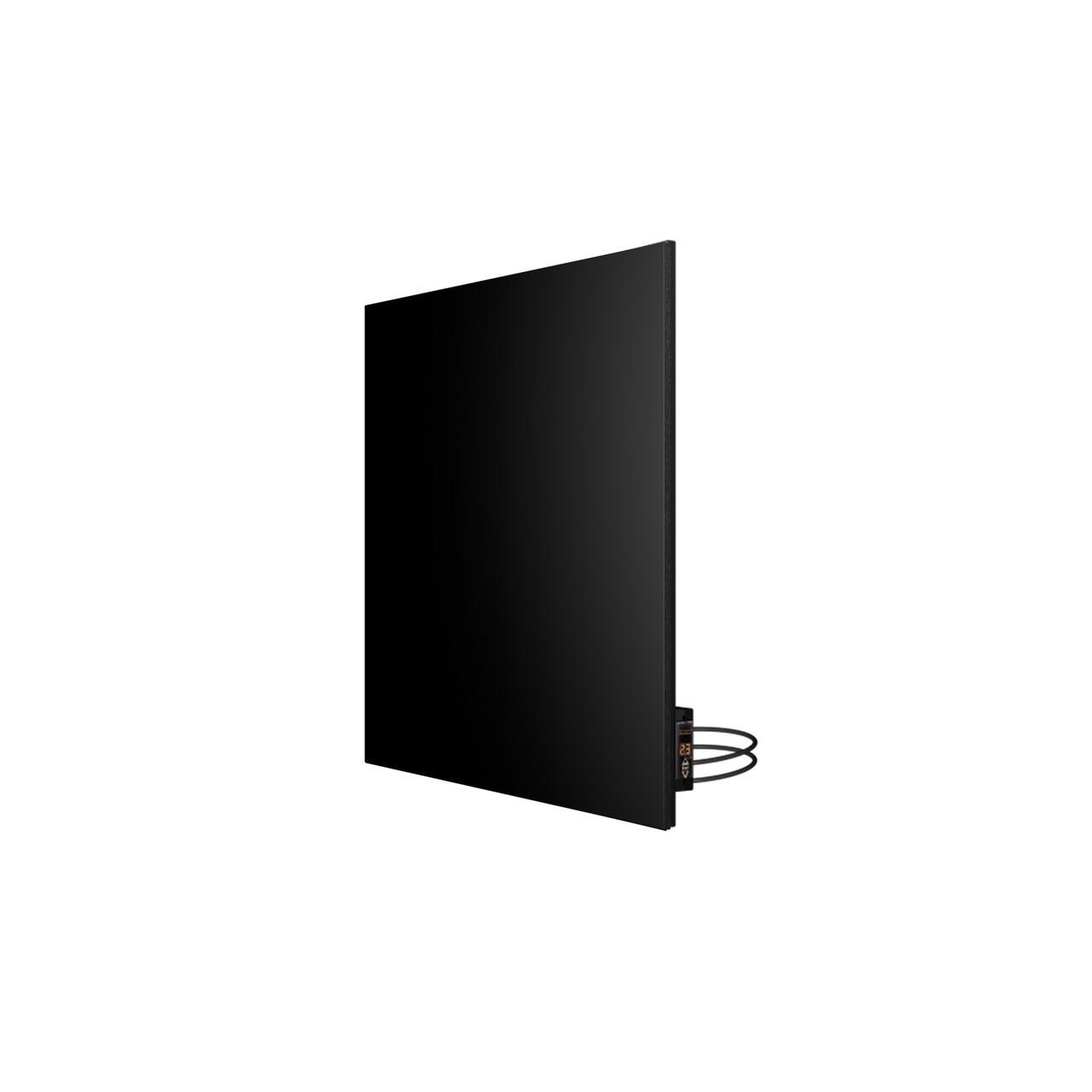 Панель керамічна інфрачервона (керамічний обігрівач) Теплокерамик TC500R з терморегулятором (Чорний)
