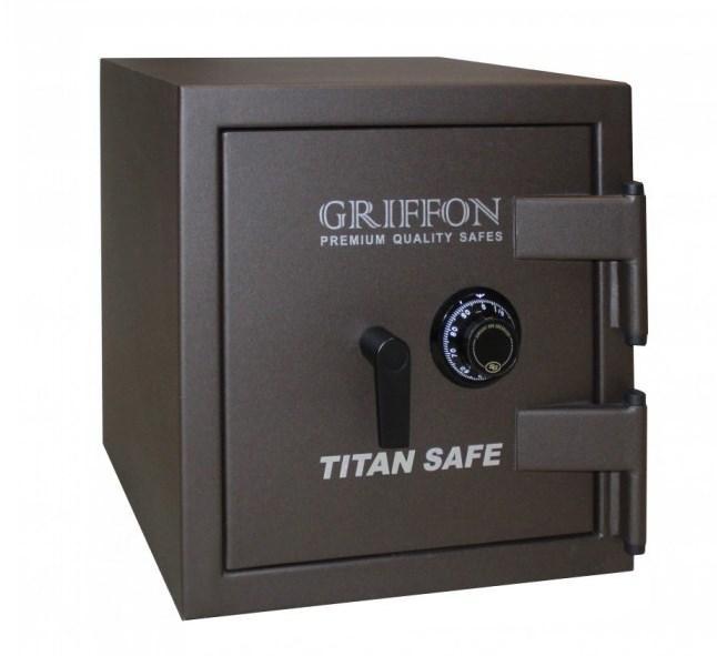 Огневзломостойкий сейф GRIFFON CL.II.50.C Brown коричневый (Украина)