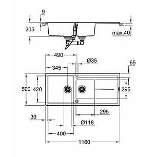 Кухонная мойка Grohe Sink K400 31643AP0, фото 2