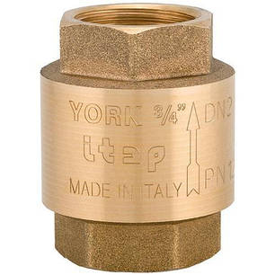 "Клапан зворотного ходу води ITAP YORK 103 3/4"", фото 2"