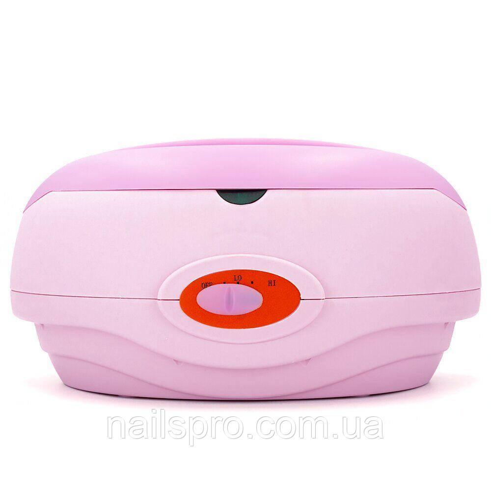 Парафинотопка воскоплав Paraffin WAX — 2.5 літра, ванна для парафіну, рожева