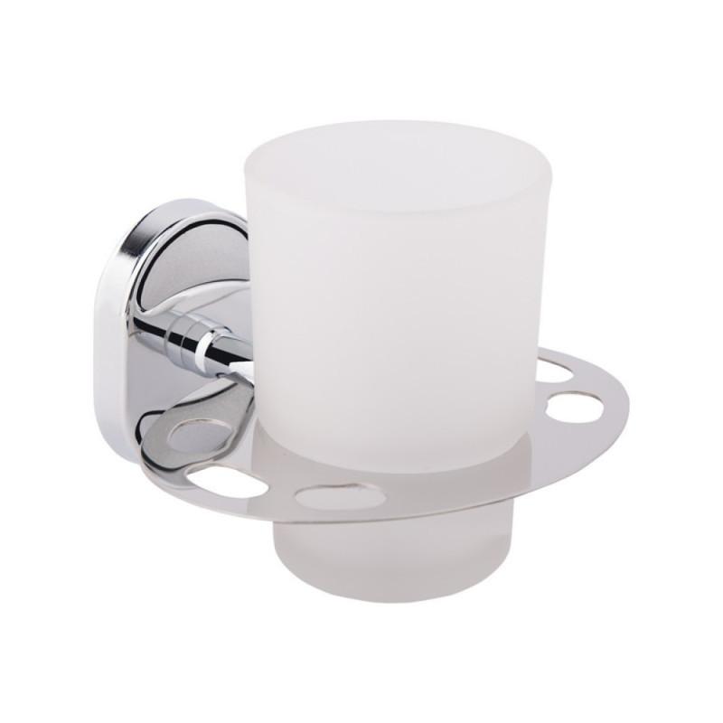 Склянку з тримачем для щіток GF Italy (CRM)/S-2906-1